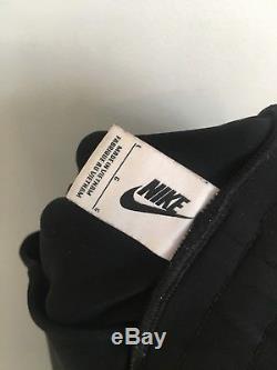 Nike NikeLab Olivier Rousteing Balmain Black Gold Jogger Pants 834911-010 Mens L