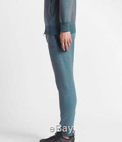 Nike Nikelab Kim Jones Men's Joggers Pants L Blue Fleece Sweatpants Casual New