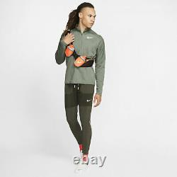 Nike Phenom Men's Running Trousers Sequoia Size S M BV4837-355