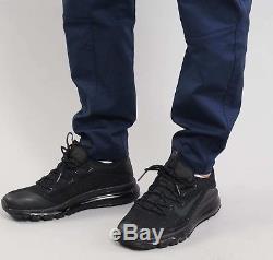 Nike Sportswear Bonded Jogger Pants Obsidian Black 861526 451us Mens Sz 36