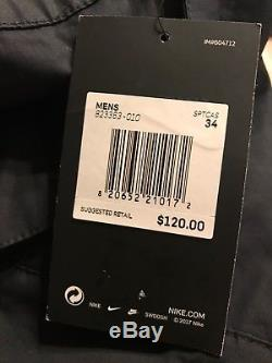 Nike Sportswear Bonded Jogger Pants Triple Black 823363 010 Us Mens Size 34