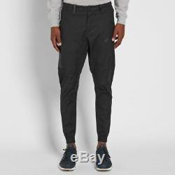Nike Sportswear Bonded Men's Jogger Pants Black 823363 010 (Size 34)