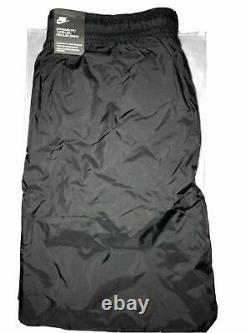 Nike Sportswear Mens Nylon Jogger Training Pants Black Tapered Leg Size 2XL