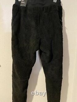 Nike Sportswear Mens Sz S Tech Fleece Icon Sherpa Black Joggers Pants AQ2769-010