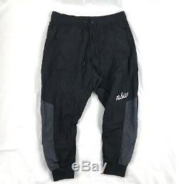 Nike Sportswear NSW Woven Jogger Pants Black Grey White AH4844-010 Men's XL-XXL
