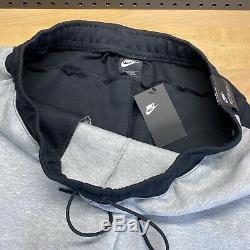 Nike Sportswear Tech Fleece Jogger Black Heather Grey Pants Mens Size 2XL Tall