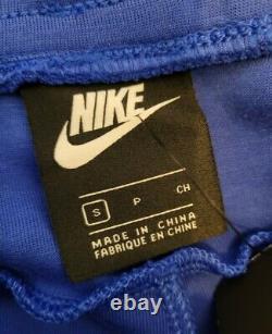 Nike Sportswear Tech Fleece Jogger Pants Blue 805162-480 Men's Size Small S NEW