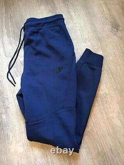 Nike Sportswear Tech Fleece Jogger Pants Costal Blue 805162-407 Mens Size S