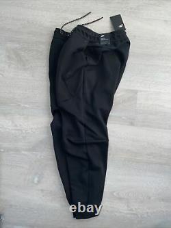 Nike Sportswear Tech Fleece Jogger Sweatpants Black CU4495-010 Mens Size Medium
