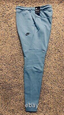 Nike Sportswear Tech Fleece Pants Joggers 805162-425 Mens Size Large Cerulean