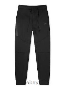 Nike Sportswear Tech Fleece Pants Joggers Black Mens Size 2XL XXL 805162-010
