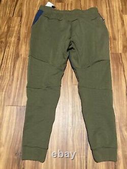 Nike Sportswear Tech Fleece Pants Navy Olive Size X-Large 805162-395