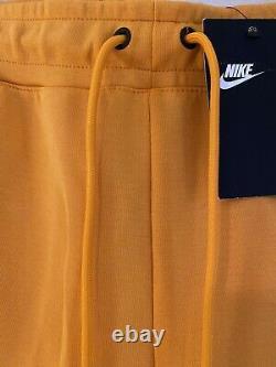 Nike Sportswear Tech Fleece Pants Orange Size S Small 805162-886