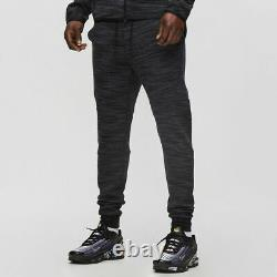 Nike Sportswear Tech Fleece Pants Size M Jogger Heather Black Grey CT7745-010