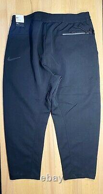 Nike Sportswear Tech Pack Cropped Woven Black Pants Trousers AR1562-010 Medium