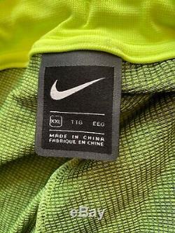 Nike Sportswear Tech Pack Jogger Pants Men's Size XXL AR1589-702 Volt/Black NWT