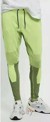 Nike Sportswear Tech Pack Jogger Pants Mens Size Large Volt Black AR1589-702 New