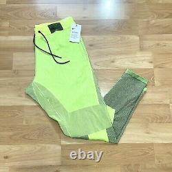 Nike Sportswear Tech Pack Jogger Pants Mens Size XL Volt Black AR1589-702 New