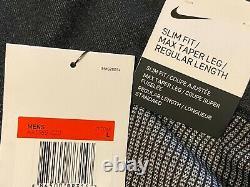 Nike Sportswear Tech Pack Knit Jogger Men's Large L Black Grey Volt AR1589-010