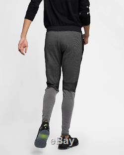 Nike Sportswear Tech Pack Men's Knit Pants 2XL Black Gray Volt Gym Casual Jogers