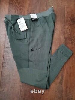 Nike Sportswear Tech Pack Men's Knit Pants M Green Gym Joggers
