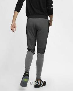 Nike Sportswear Tech Pack Men's Knit Pants XL Orange Black Gray Casual Joggers