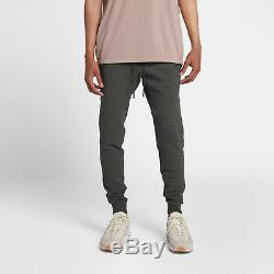 Nike Sportswear Tech Pack Mens Textured Joggers L Blue Pants Tapered Slim Fit