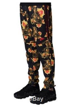 Nike Sportswear Tribute Floral Print Joggers Mens Size Large Pants 909240 719