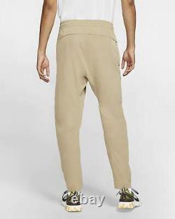 Nike Sportswear Woven Jogger Pants Khaki Beige Black AR3221-247 Men's XL