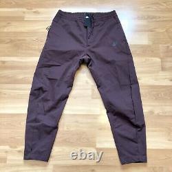 Nike Sportswear Woven Pants Size L Men Maroon Mahogany Jogger AR3221-263