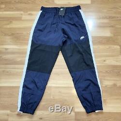 Nike Sportswear Woven Trousers Mens Size Large Obsidian Navy Jogger Pants