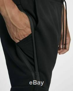 Nike Sportwear Tech Fleece Mens Pants Joggers Taper Black Size S 805162 010