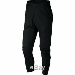 Nike Standard Fit Tech Bonded Woven Pants Black Joggers 886166 010 Mens Size 32