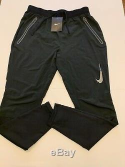 Nike Swift 27 Dri-FIT Running Pants Joggers Black Mens Size Small 928583-010