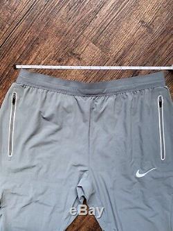 Nike Swift 27 Running Pants Joggers Cool Grey Mens Size Medium 857840-065 $120