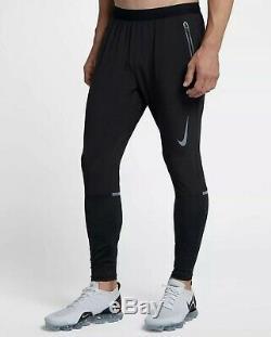 Nike Swift Running Pants Joggers Black Reflective 928583 Mens Medium MSRP $120