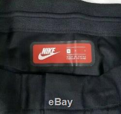 Nike Tech Bonded Woven Pants Men's Sz 36 Black 886166-010 Sportswear Joggers NWT
