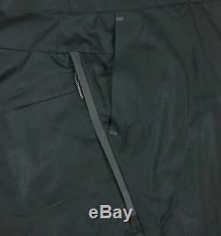 Nike Tech Bonded Woven Pants Men's Sz 38 Black 886166-010 Sportswear Joggers NWT