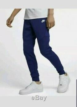 Nike Tech Fleece Cuffed Joggers Pants 805162 590 Regency Purple NEW Mens Small S