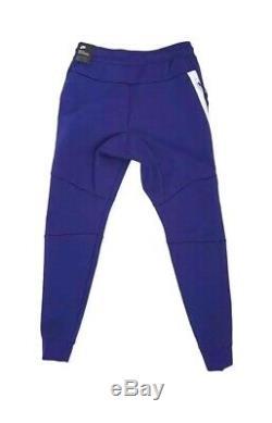 Nike Tech Fleece Cuffed Joggers Pants 805162-590 Regency Purple/White Men's XL
