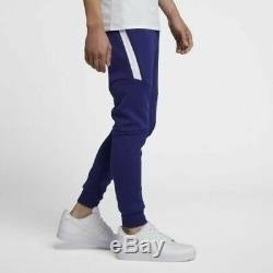 Nike Tech Fleece Cuffed Joggers Pants Regency Purple Mens L NEW $100 805162-590