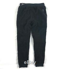 Nike Tech Fleece Icon Sherpa Jogger Pants Triple Black AQ2769-010 Men's Large L