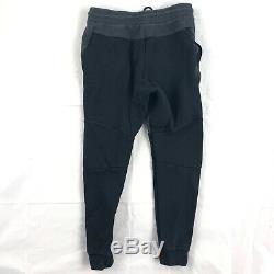 Nike Tech Fleece Jogger Pants Sweatpants Black Grey 805162-011 Men's Small S