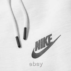 Nike Tech Fleece Jogger Pants Sweatpants Grey Black White CT7745-043 Men's Large