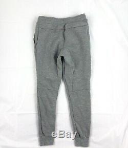 Nike Tech Fleece Jogger Pants Sweatpants Grey White Volt 545343-091 Mens Small S