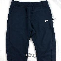 Nike Tech Fleece Jogger Pants Sweatpants Obsidian Navy Blue 928507-451 Men's XXL
