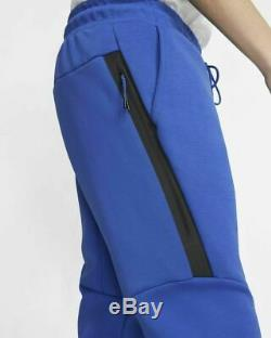 Nike Tech Fleece Jogger Pants Sweats Joggers Blue 805162-480 Men's XL