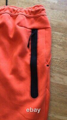 Nike Tech Fleece Joggers Pants Sweats Jogger Orange CU4495-837 Men's L Large