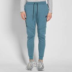 Nike Tech Fleece Joggers Sweat Pants In Smokey Blue 805162-055 Mens New Medium