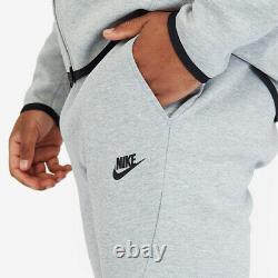 Nike Tech Fleece Joggers Sweat Pants Men's M Medium 805162-063 Grey